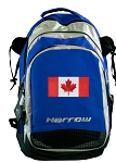 Canadian Flag Harrow Field Hockey Lacrosse Bag Blue