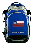 American Flag Harrow Field Hockey Lacrosse Bag Blue
