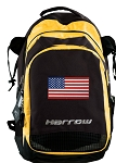 American Flag Harrow Field Hockey Lacrosse Bag Yellow