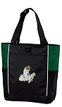 Cute Cats Tote Bag Green