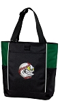 Baseball Tote Bag Green