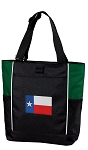 Texas Flag Tote Bag Green