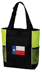 Texas Flag Tote Bag COOL LIME