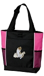 Cute Cats Tote Bag Pink