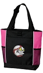 Baseball Tote Bag Pink