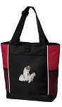 Cute Cats Tote Bag Red