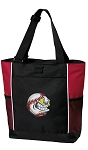 Baseball Tote Bag Red