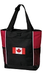 Canada Tote Bag Red