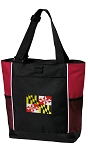 Maryland Tote Bag Red