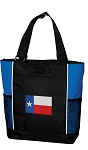 Texas Flag Tote Bag Red