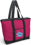 Deluxe Pink Sea Turtle Tote Bag