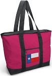 Deluxe Pink Texas Tote Bag