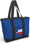 Texas Flag Tote Bag Blue
