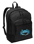 Blue Crab Backpack - Classic Style