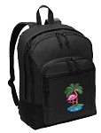 Pink Flamingo Backpack - Classic Style