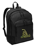 Don't Tread on Me Backpack - Classic Style