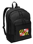 Maryland Flag Backpack - Classic Style