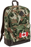 Canada Camo Backpack