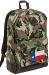 Texas Flag Camo Backpack