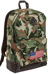 American Flag Camo Backpack