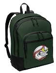 Baseball Backpack Green