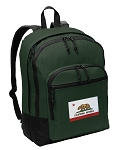 California Flag Backpack Green