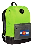 Colorado Backpack Classic Style Fashion Green