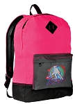 Field Hockey Backpack Classic Style HOT PINK