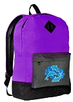 Dolphin Backpack CLASSIC STYLE Purple