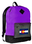 Colorado Backpack Classic Style FASHION PURPLE