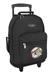 Baseball Rolling Backpacks Black