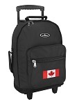 Canada Rolling Backpacks Black