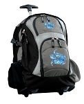 Turtle Rolling Backpack Black Gray