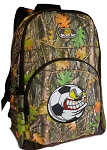 Soccer Fan Backpack REAL CAMO DESIGN