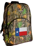 Texas Flag Backpack REAL CAMO DESIGN