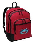 BLUE CRAB Backpack CLASSIC STYLE Red
