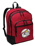 Baseball Backpack CLASSIC STYLE Red