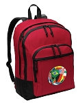 Soccer Backpack CLASSIC STYLE Red