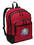 Field Hockey Backpack CLASSIC STYLE Red