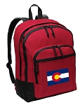 Colorado Backpack CLASSIC STYLE Red