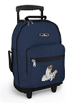 Cute Cats Rolling Navy Backpacks