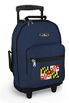 Maryland Rolling Navy Backpacks