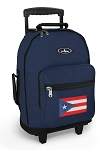 Puerto Rico Rolling Navy Backpacks
