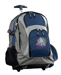 Field Hockey Rolling Backpack Navy