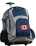Canada Rolling Backpack Navy