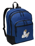 Cute Cats Backpack Blue