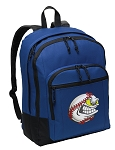 Baseball Backpack Blue