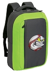 Baseball SLEEK Laptop Backpack Green