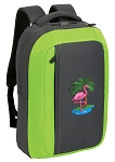 Flamingo SLEEK Laptop Backpack Green