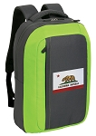 California Flag SLEEK Laptop Backpack Green
